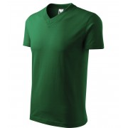 ADLER Heavy V-neck 160 Triko 10206 lahvově zelená L