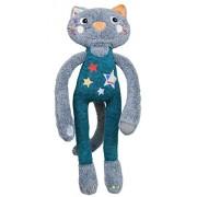 Magic Circus - Peluche 1er âge - Peluche Elastoc le chat acrobat