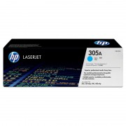 HP 305A Cyan LaserJet Toner Cartridge (CE411A)