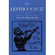 Leviticus 23-27 by Jacob Milgrom