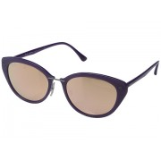 Ray-Ban RB4250 52mm Shiny Violet FrameBrown Mirror Pink Lens