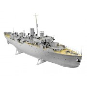 Revell Germany Flower Class Corvette Platinum Edition Model Kit