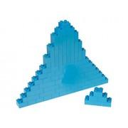Premium Big Briks Robin's Egg Blue Basic Builder Set #1 - 84 Pack - (Big LEGO DUPLO Compatible) - Large Pegs