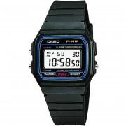 Reloj Casio Pulso Vintage Digital F-91W-1DG-Negro