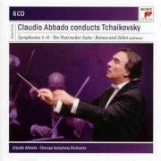 Symphonies 1-6,The Nutcracker suite,Romeo and Juliet etc - Claudio Abbado conducts Tchaikovsky (6CD)