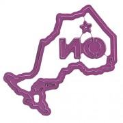 """Cheery Lynn Designs Cheery Lynn Designs-Fustelle Stato/Provincia di Ontario, .25 """""""" To 3 """", altri, multicolore"""