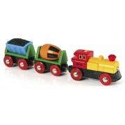 Battery Operated Action Train Set by Brio