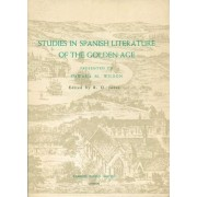 Studies in Spanish Literature of the Golden Age by R.O. Jones