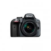 Aparat foto DSLR Nikon D3300 24.7 Mpx Kit AF-P 18-55mm VR Grey