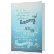 A Future and a Hope - Jeremiah 29:11 - (Encouraging Greeting Card)