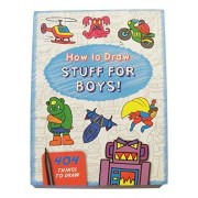 Educational How To Draw Book ~ Stuff For Boys (404 Monsters, Things That Go, Manga Characters, Superheroes And More; 2014)