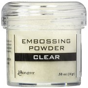 Ranger Embossing Powder, 1-Ounce Jar, Clear