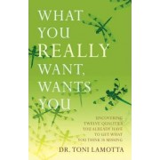 What You Really Want, Wants You by Dr Toni Lamotta