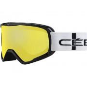 Masque De Ski Masque De Ski Cebe Striker L Noir Yellow Flash Mirror