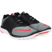 Nike FS LITE RUN 3 Running Shoes(Grey, White, Black)