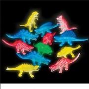 Glow in the Dark Dinosaur Assortment (Package of 12)