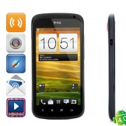 "4.0 WCDMA Bar HTC ONE S Android Phone w / 4,3 ""Ecran capacitif, GPS et Wi-Fi - Noir (16 Go)"