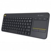 Logitech Wireless Touch Keyboard K400 Plus Безжична Клавиатура