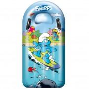 Mondo saltea gonflabilă Surf Rider Ştrumfii 16381 albastră