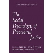 The Social Psychology of Procedural Justice by E. Allan Lind
