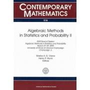 Algebraic Methods in Statistics and Probability II by Marlos A. G. Viana