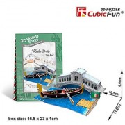 CubicFun 3D Puzzle World Style-Series Italy Flavor - Rialto Bridge - Italy
