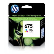 Cartucho HP 675 Color CN691AL 9Ml