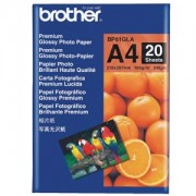 Brother BP-61GLA Premium Glossy Paper A4 20 Sheets, Size:210 x 297mm, Weight:190 gsm