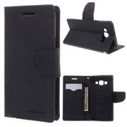 Mercury Flip Cover For LENOVO A7000 / K3 NOTE / A7000 TURBO BLACK - By KPH