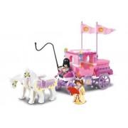 Sluban Bricks Girls Dream Princess Royal Carriage Lego Compatible Building Blocks