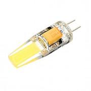 3W G4 Lâmpadas Espiga T 1 COB 300 lm Branco Quente / Branco Frio Decorativa DC 12 / AC 12 V 1 pç