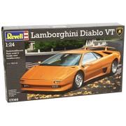 Revell 07066 - Lamborghini Diablo VT Kit di Modello in Plastica, Scala 1:24