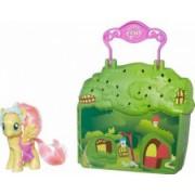 Set Figurina Si Accesorii Hasbro My Little Pony Explore Equestria Manehatten Flu