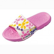 Beco badslippers roze-wit
