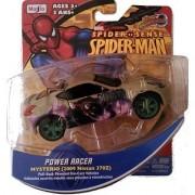 Marvel Spider Sense Spider-Man Motorized Power Racer- Pull-back powered die-cast vehicle Mysterio 2009 Nissan 370Z