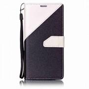 Para Carteira / Porta-Cartão / Com Suporte Capinha Corpo Inteiro Capinha Cor Única Rígida Couro PU para Huawei Huawei P9 Lite