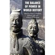 Balance of Power in World History by Stuart J. Kaufman