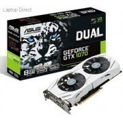 ASUS Dual GeForce GTX 1070 White housing 8Gb/8192mb DDR5 256bit Graphics Card with Dual fan