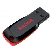 Stick Sandisk Cruzer BLADE SDCZ50-064G-B35, 64GB, USB 2.0, rosu-negru