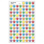 Paw Prints Super Spots Stickers