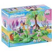 PLAYMOBIL Fairy Island with Jewel Fountain Playset