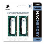 Memória Mac Corsair 1333 MHz 16 GB ( 2 X 8GB ) / CMSA16GX3M2A1333C9 - 1429 1429