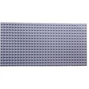 Premium Light Gray Base Plate - 20 X 10 Baseplate (Lego Duplo Compatible)