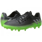 adidas Messi 162 FG Dark GreySilver MetallicSolar Green