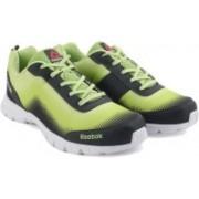 Reebok DUO Running Shoes(Yellow, Green)