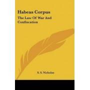 Habeas Corpus by Samuel Smith Nicholas