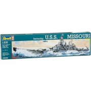 USS Missouri Battleship 1-535 Revell Germany