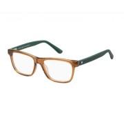 Tommy Hilfiger Rame ochelari de vedere barbati TOMMY HILFIGER (S) TH1327 05R BROWN GREEN