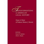 Transformations in American Legal History by Daniel W. Hamilton