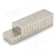 4mm néodyme Aimant Cube Puzzle bricolage Set - Silver (216 PCS)